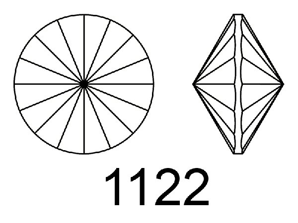 GEMME TONDE A RIVOLO - 1122
