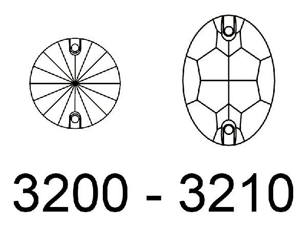 CABOCHON - 3200 - 3210
