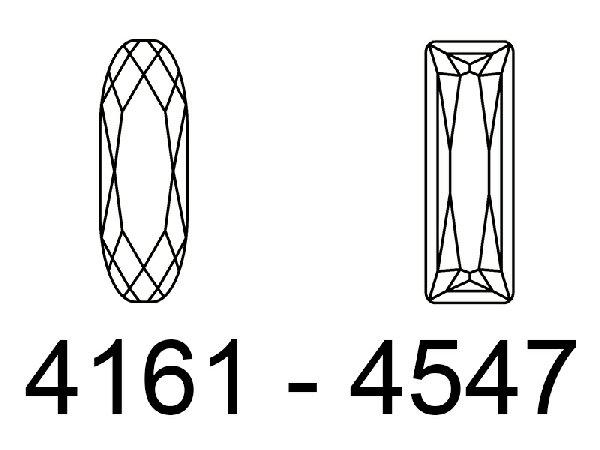 GEMME BAGUETTE - 4161 - 4547
