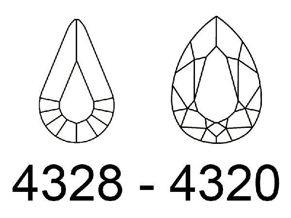 GEMME A GOCCIA - 4328 - 4320
