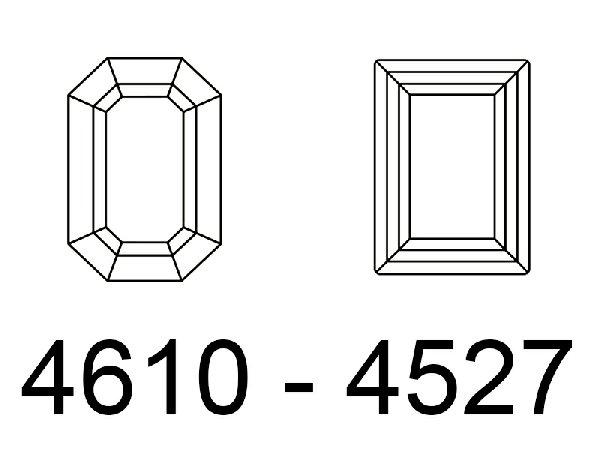 GEMME RETTANGOLARI - 4610 - 4527