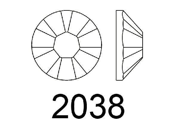STRASS TERMOADESIVI O DA INCOLLO - 2038