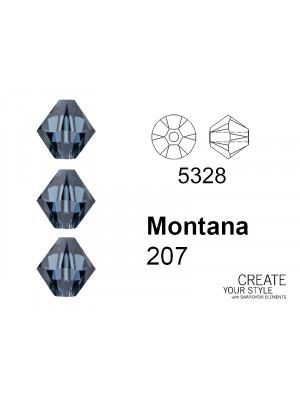 Swarovski Bicono MONTANA - 5328