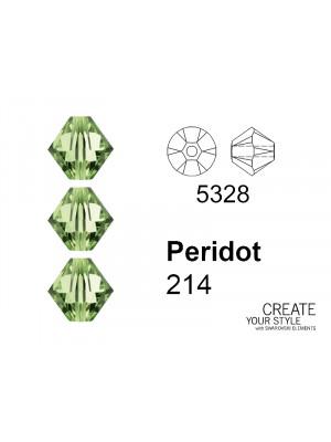 Swarovski Bicono PERIDOT - 5328