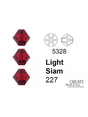Swarovski Bicono LIGHT SIAM - 5328