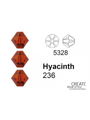 Swarovski Bicono HYACINTH - 5328