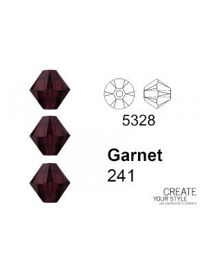 Swarovski Bicono GARNET – 5328