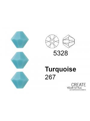 Swarovski Bicono TURQUOISE - 5328