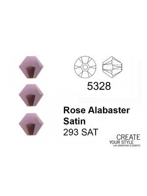 Swarovski BiconoROSE ALABASTER SATIN - 5328