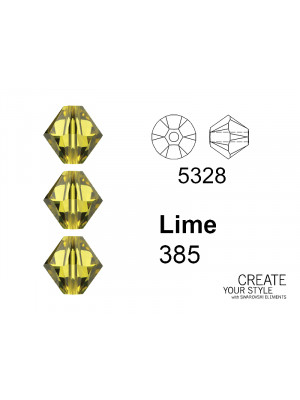 Swarovski Bicono LIME - 5328