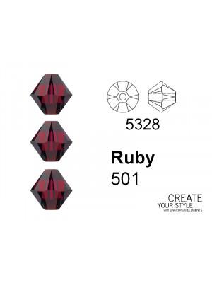 Swarovski Bicono RUBY - 5328