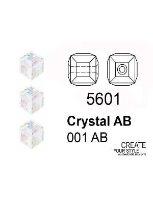 Swarovski Cubo CRYSTAL AB - 5601