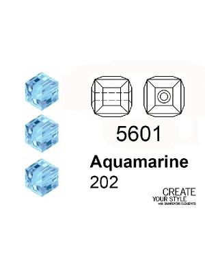 Swarovski Cubo AQUAMARINE - 5601