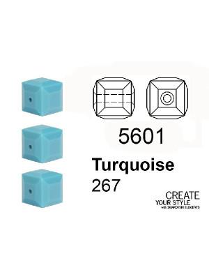 Swarovski Cubo TURQUOISE - 5601