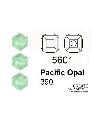 Swarovski Cubo PACIFIC OPAL - 5601