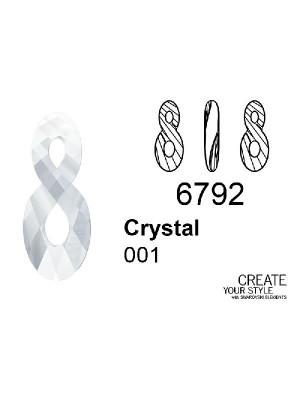 Swarovski Ciondolo Infinito CRYSTAL - 6792