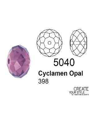 Swarovski Rondella a Cipolla CYCLAMEN OPAL - 5040