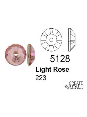 Swarovski Paiette LIGHT ROSE - 5128