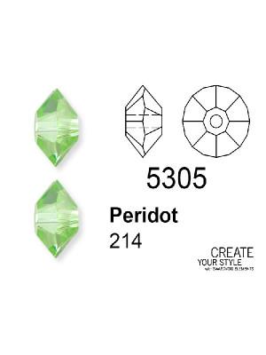 Swarovski Rondella PERIDOT - 5305