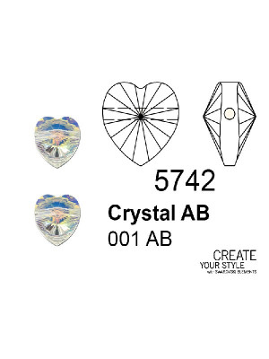 Swarovski Cuore CRYSTAL AB - 5742