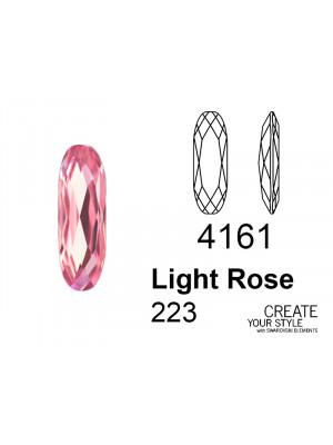 Swarovski Gemma Baguette LIGHT ROSE - 4161