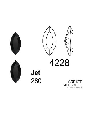 Swarovski Gemma a Navetta JET - 4228