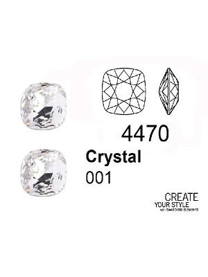 Swarovski Gemma Quadrata CRYSTAL - 4470