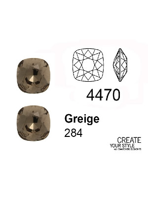 Swarovski Gemma Quadrata GREIGE - 4470