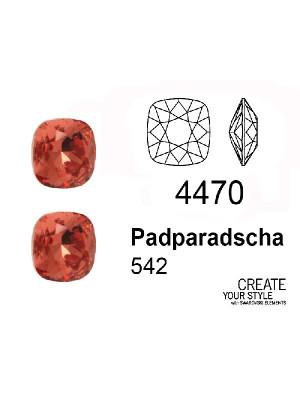 Swarovski Gemma Quadrata PADPARADSCHA - 4470