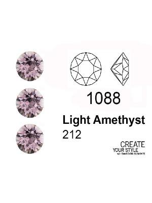Swarovski Gemma Tonda Conica LIGHT AMETHYST - 1088