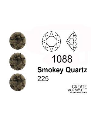 Swarovski Gemma Tonda Conica SMOKEY QUARTZ - 1088