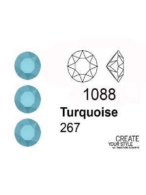 Swarovski Gemma Tonda Conica TURQUOISE - 1088