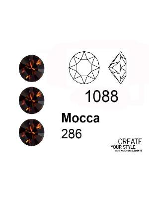 Swarovski Gemma Tonda Conica MOCCA - 1088