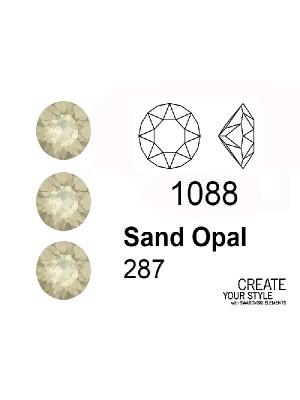 Swarovski Gemma Tonda Conica SAND OPAL - 1088