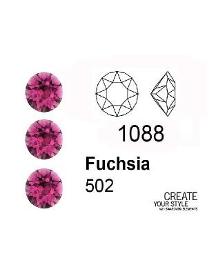 Swarovski Gemma Tonda Conica FUCHSIA - 1088