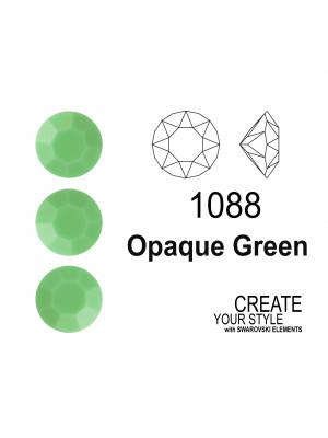 Swarovski Gemma Tonda Conica OPAQUE GREEN - 1088