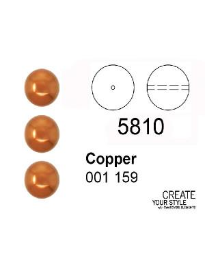 Swarovski Perla COPPER - 5810