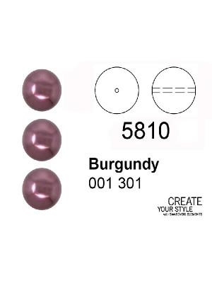 Swarovski Perla BURGUNDY - 5810