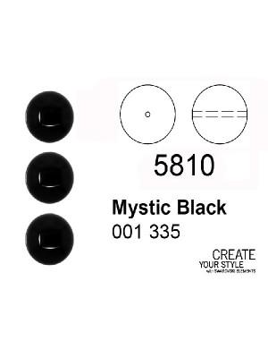 Swarovski Perla MISTIC BLACK (nero) - 5810