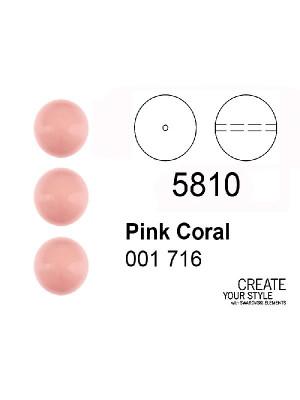 Swarovski Perla PINK CORAL