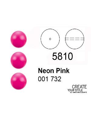 Swarovski Perla NEON PINK - 5810