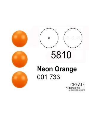 Swarovski Perla NEON ORANGE - 5810