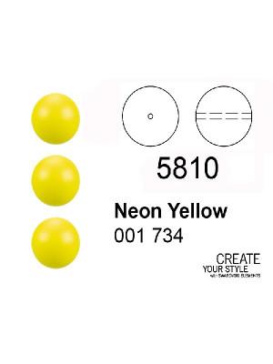 Swarovski Perla NEON YELLOW - 5810