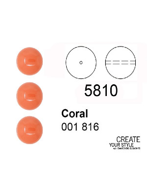 Swarovski Perla CORAL - 5810