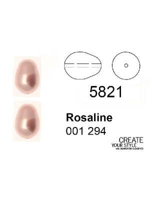 Swarovski Perla a Goccia ROSALINE - 5821
