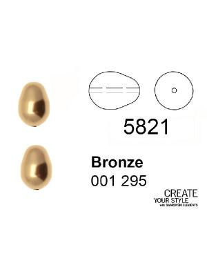 Swarovski Perla a Goccia BRONZE - 5821