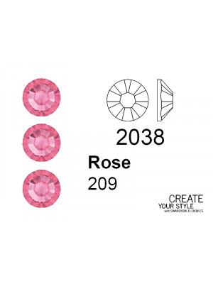 Swarovski Strass Termoadesivo ROSE - 2038