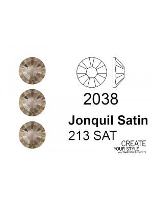 Swarovski Strass Termoadesivo JONQUIL SATIN - 2038