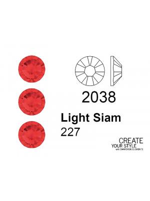 Swarovski Strass Termoadesivo LIGHT SIAM - 2038