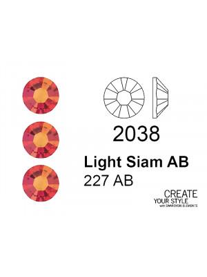 Swarovski Strass Termoadesivo LIGHT SIAM AB - 2038